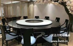 新中式田园风格电动桌-型号陆绫濑:如烟